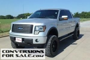 Lifted 2012 Ford F150 FX4 Silver