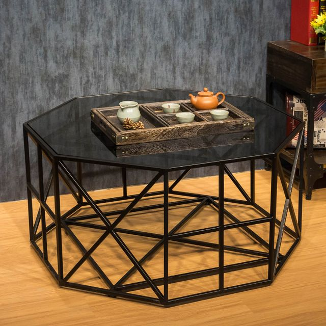 table basse fer forge moderne. Black Bedroom Furniture Sets. Home Design Ideas