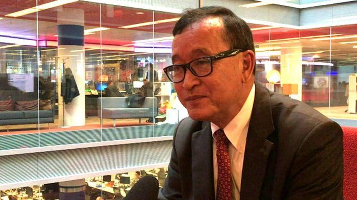Sam Rainsy muốn Hun Sen 'thoát hiểm an toàn' - BBC Tiếng Việt