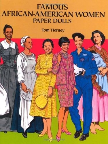 Famous African American Women Paper Dolls on www.amightygirl.com