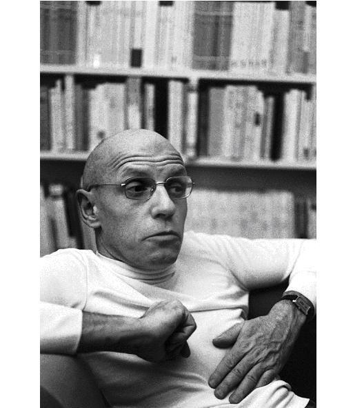 Michel Foucault, Parigi, 1975
