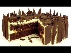 Торт шоколадно-карамельный - YouTube