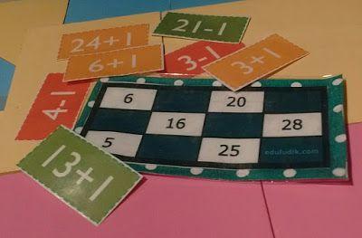 Educación Primaria: Bingo y cálculo mental Suma y resta. Primer grado.