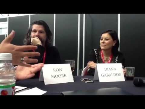 Outlander -- Ron Moore and Diana Gabaldon @New York Chiropractic College
