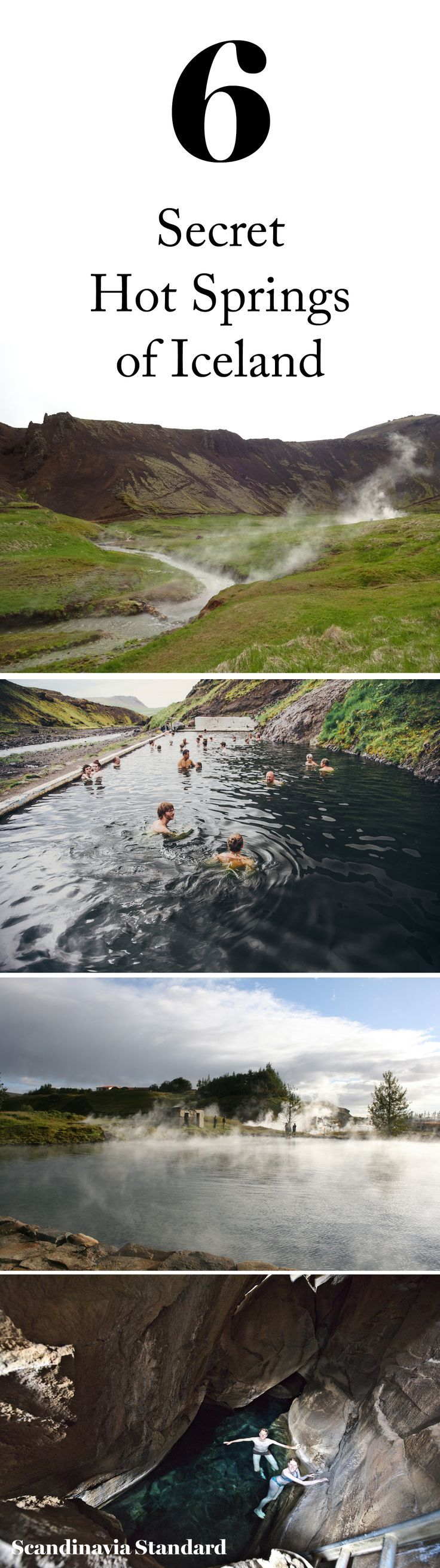Iceland is full of natural geothermally heated 'spa's' that are frequented by locals and tourists alike!