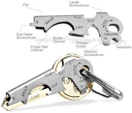 "Key Tool and Shackle Set - I figure this might aid in the quest to figure out ""the gadget"" and it's possible uses!!"