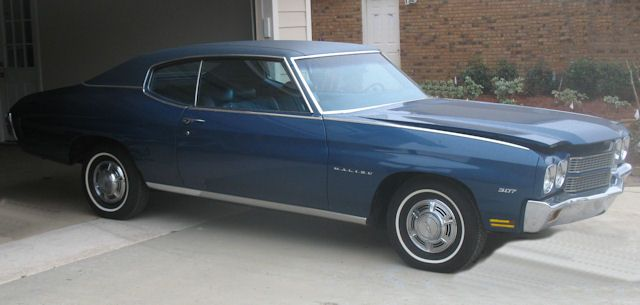 28 C Fathom Blue Dark Blue Vinyl Top Muscle Cars Camaro Chevelle 1970 Chevelle