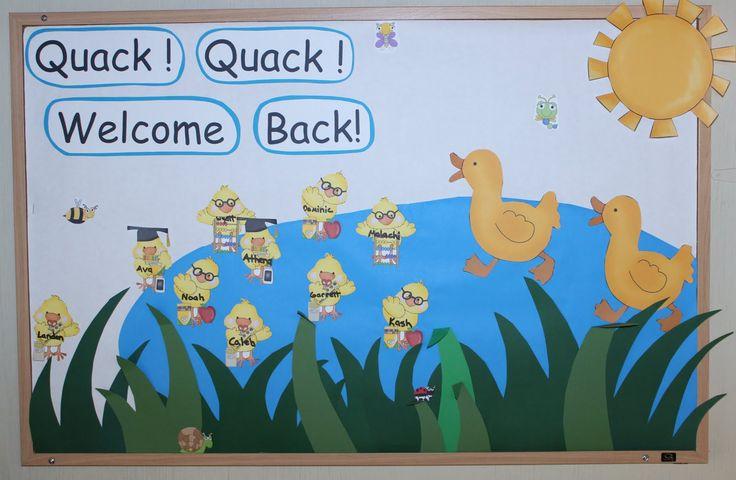 bulletin board for preschool - Google Search
