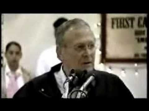 Rumsfeld slips up and admits flight 93 shot down - YouTube ... I ... WATCH THE PEOPLE IN THE BACK AS RUMSFELD SPEAKS!!! .... Uploaded on Oct 27, 2006 -  Rumsfeld slips up and admits flight 93 was shot down. Just take a look at the woman in the background. She can't believe it! OOOPPPSSS!! Learn more at ...