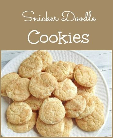 The best snicker doodle cookie recipe