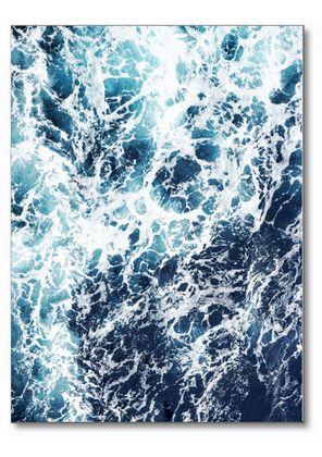 Foto poster van het schuimen van de oceaan. Mooie foto vangeweldig natuurfenomeen voor bij jou aan de muur. Erg leuk in combinatie metdieren posters of leuke quotes. Dé poster voor een stijlvol en Scandinavisch interieur. De poster is beschikbaar in A5, A4, A3, A2 of een A1 formaat.Uiteraard zonder watermerk.