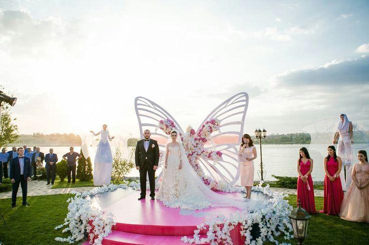 Fluturi handmade art din hartie   Decoratiuni DIY pentru nunta   Butterfly wedding theme