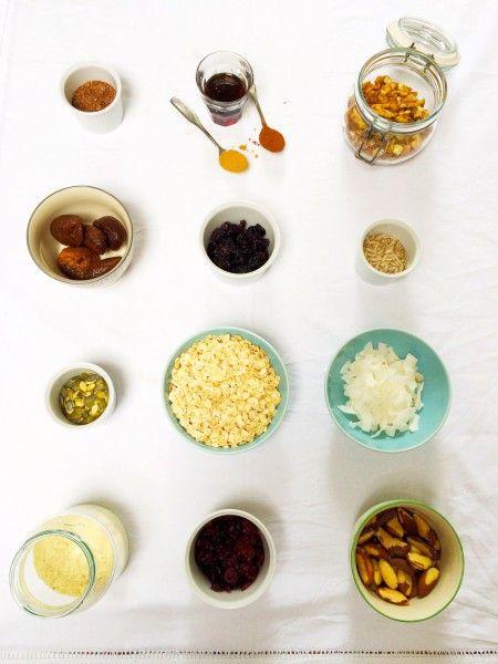 gezonde granola - makkelijk recept om zelf te maken made by ellen