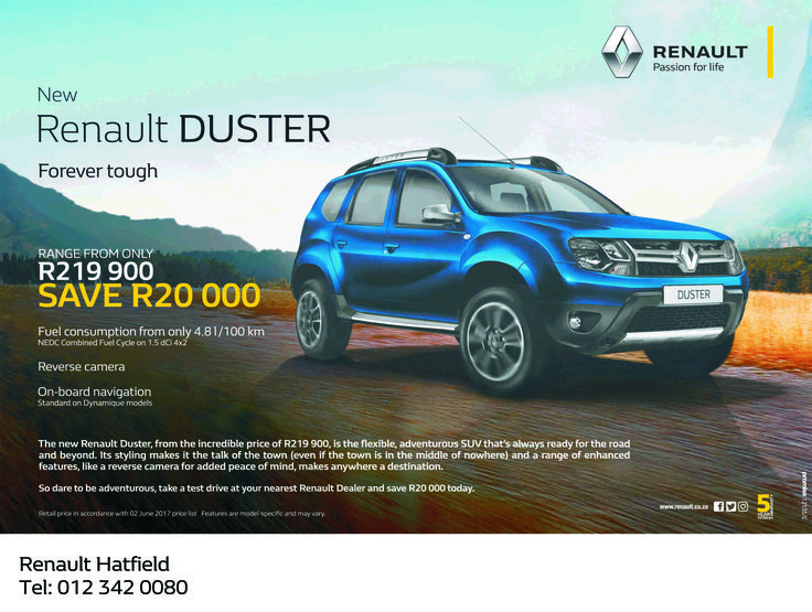 Don't miss out @ #BB #Renault #Hatfield !! Contact us today on 0123420080 for more information. *Terms and Conditions Apply. #Autofind