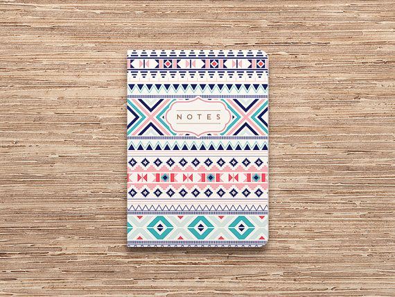 DIY Inspiration of the Day: Cute mini notebook.