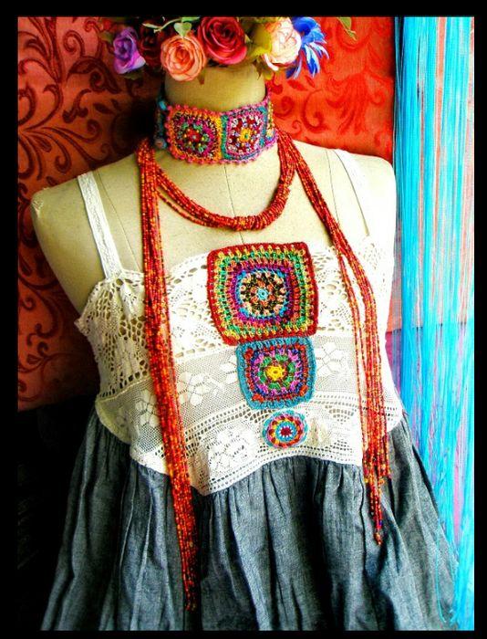 Irish crochet &: Aow Dusdee и ее фантазии