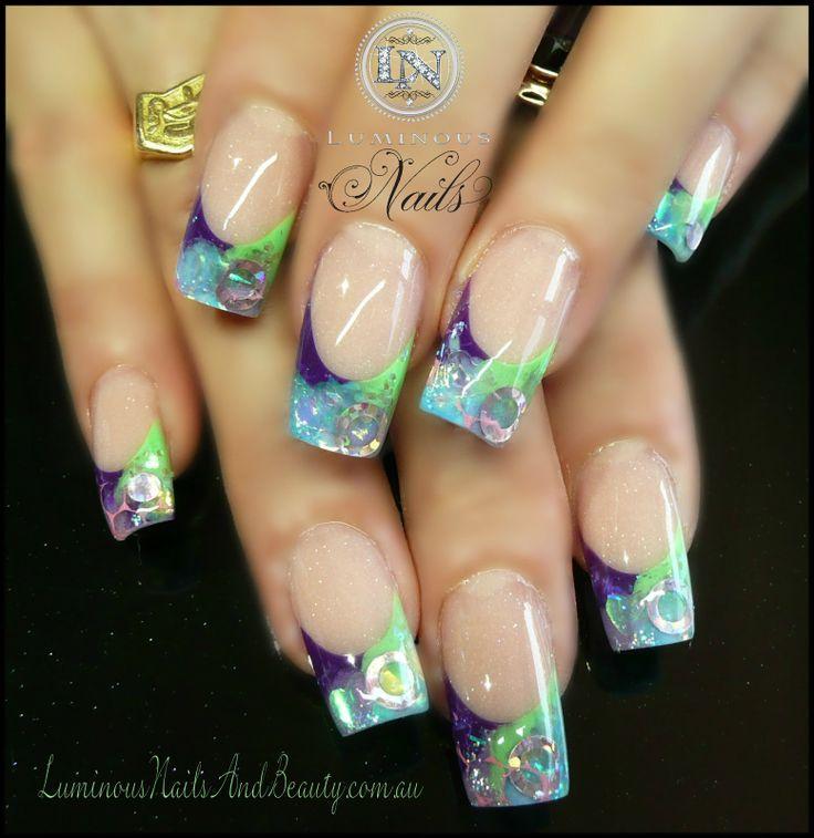 25 best ideas about sculptured nails on pinterest for Acrylic nails salon brisbane