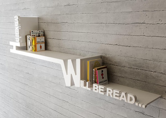 Will Be Read... Book Shelf (from Target!)   Designed By