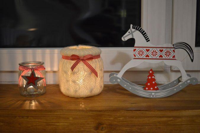DIY wełniany świecznik. DIY wool lantern