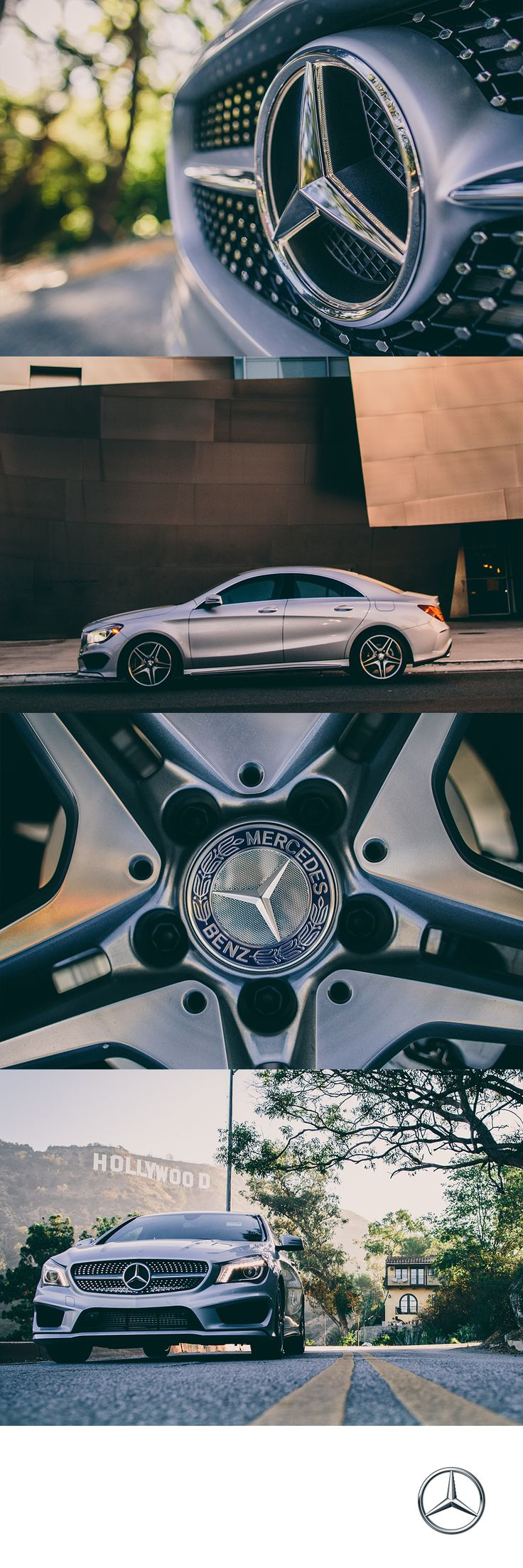 The CLA250 doesn't compromise when it comes to power with a sport-tuned suspension and 4MATIC all wheel drive. #MBPhotoCredit: Andres Tardio