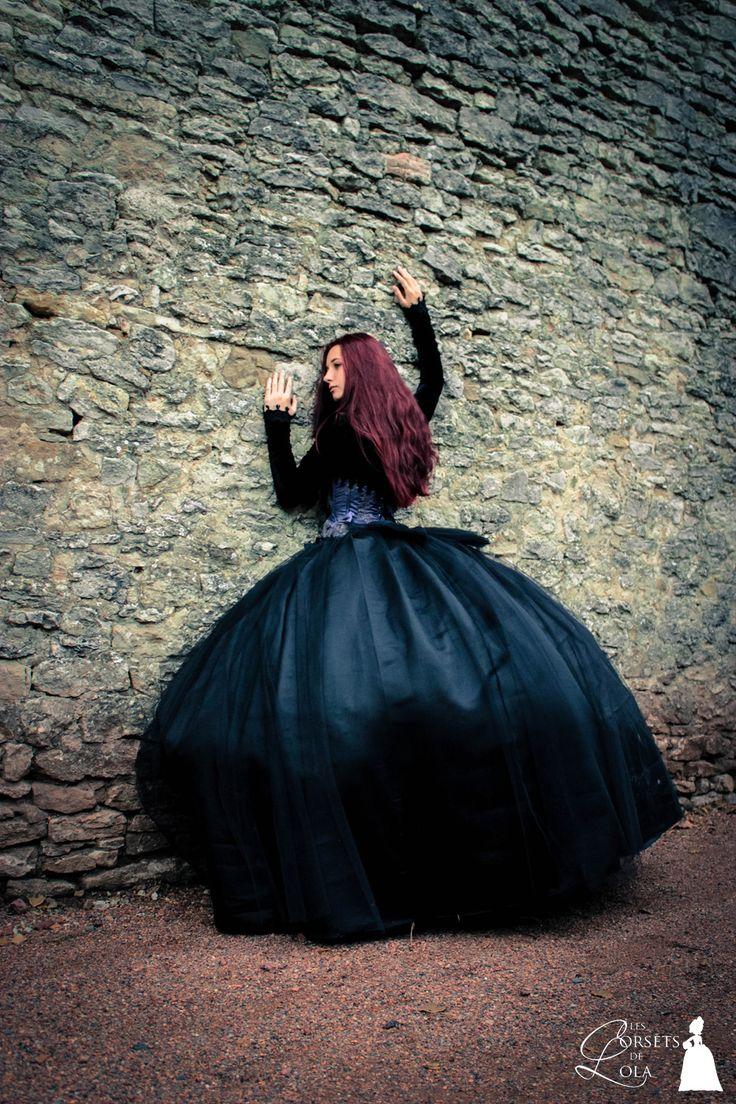 Costume gothique victorien Les Corsets De Lola, 2014. Photo : Laura Monpeurt.