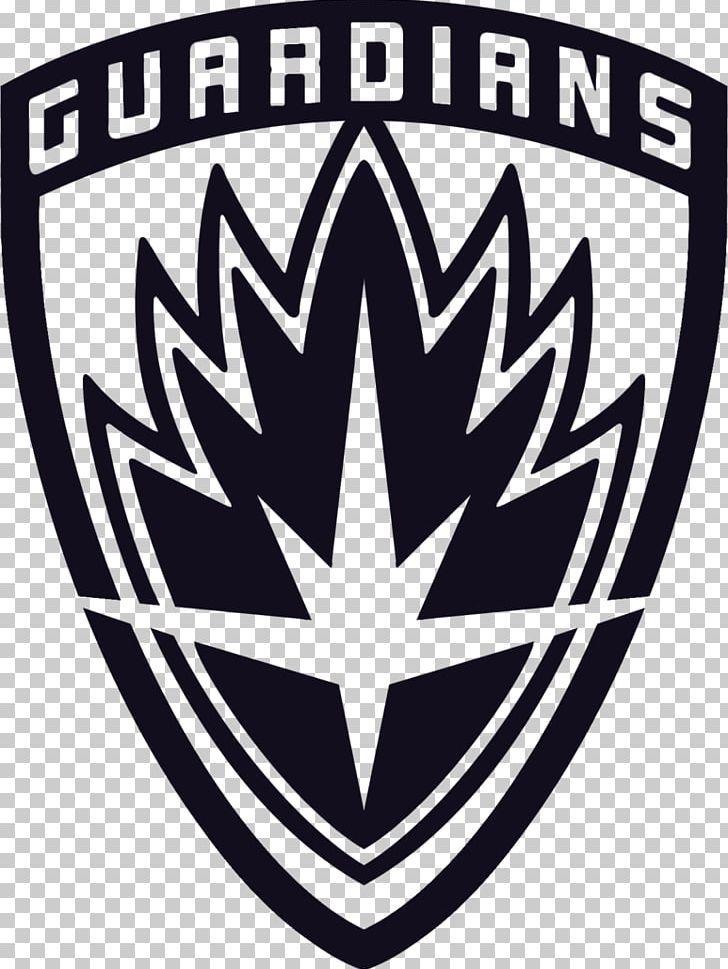 Star Lord Rocket Raccoon Groot Decal Yondu Png Art Black And White Brand Decal Emblem Star Lord Rocket Raccoon Avengers Alliance