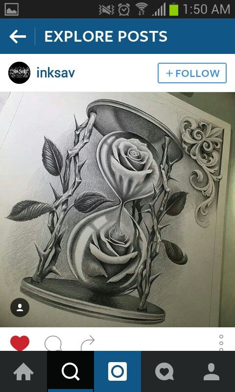 ROSES hourglass