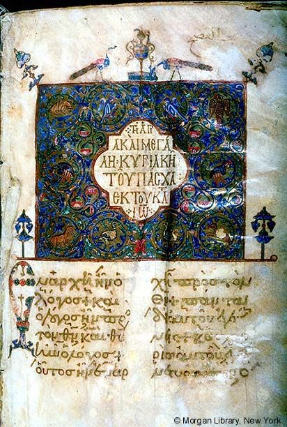 Lectionary, MS M.647 fol. 1r - Images from Medieval and Renaissance Manuscripts…
