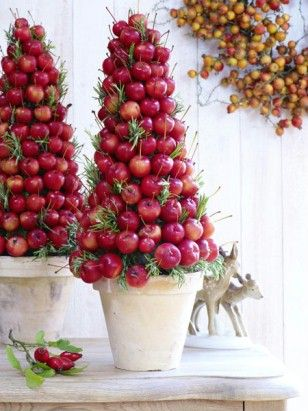Used to make this for my store..will make one in green apples for our kitchen..amh