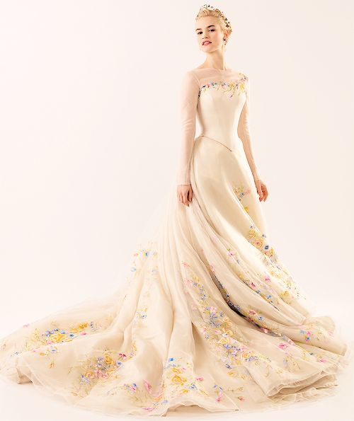 First Look: Cinderella's Wedding Gown