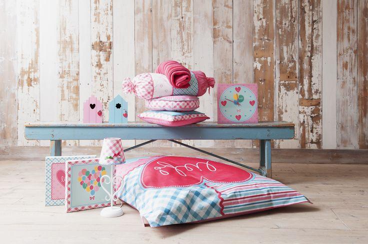 De lief! lifestyle collectie bij Leen Bakker: alles om je meisjeskamer compleet in te richten!