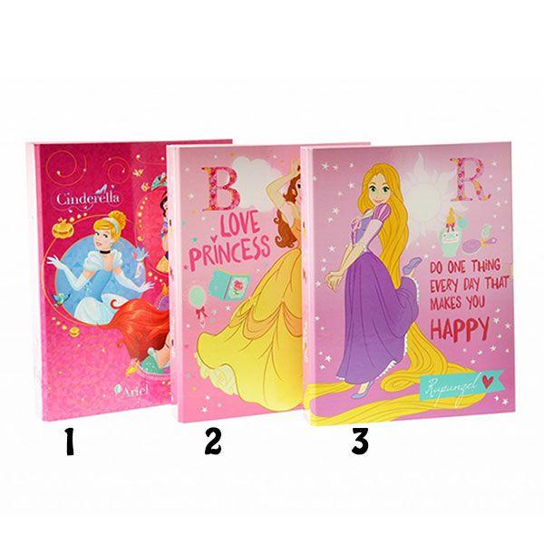 Disney Princess Κλασέρ σχολικό 17x25cm 2 κρίκων