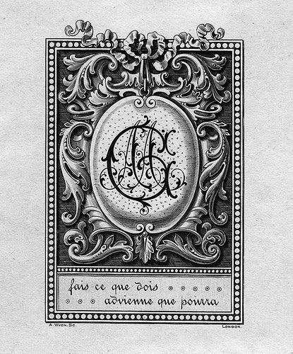 [Bookplate of MG] by Pratt Libraries, via Flickr