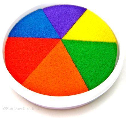 Rainbow Creations Rainbow Coloured Ink Paint Pad