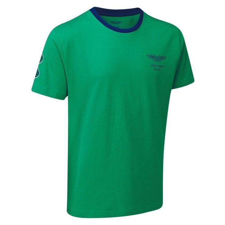 Aston Martin Official Racing Classic Green Gulf Team Racing T-Shirt