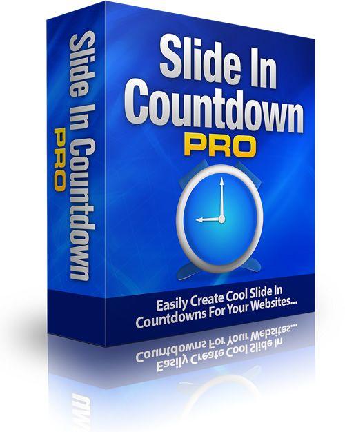 cool SlideIn Countdown Pro