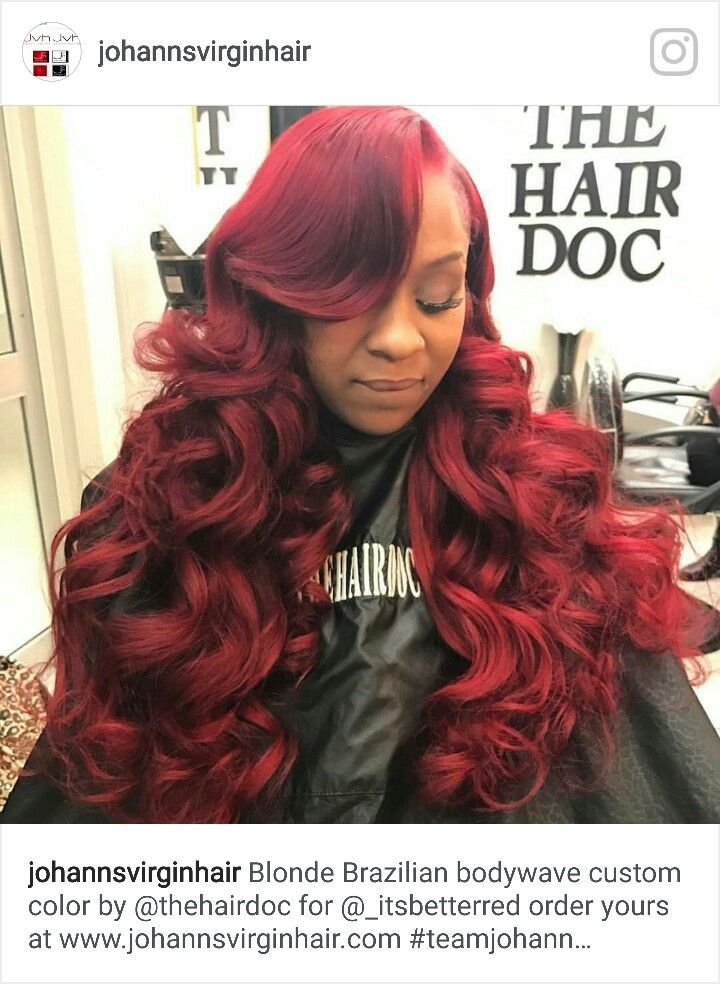 Red Hairstyles Inspiration 119 Best Red Hairstyles Images On Pinterest  Black Girls Hairstyles