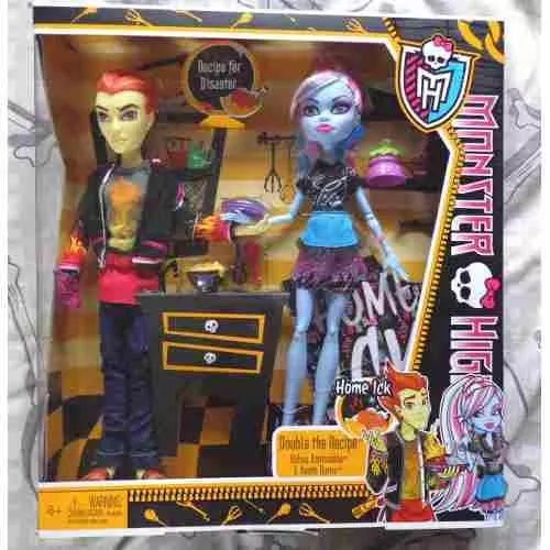 Monster High Abbey Bominable & Heath Burns - $ 2.299,99
