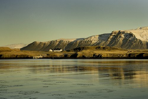 Have a nice day.  Greetings from Iceland