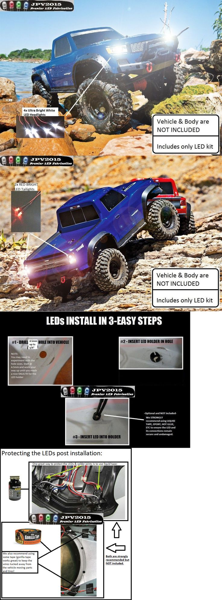 Lighting and Lamps 182177 Traxxas Trx4 Sport Trx4 Led