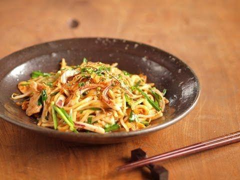 焼きキーマカレーうどん 、 レトルトカレーアレンジ 魚料理と簡単レシピ