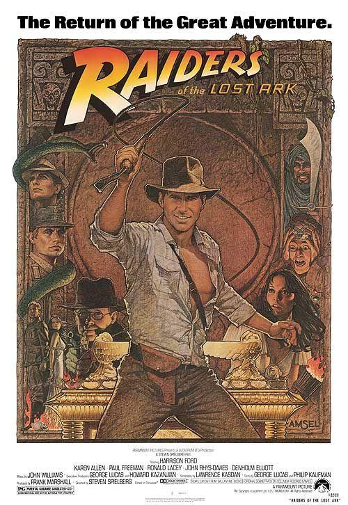 Raiders of the Lost Ark.