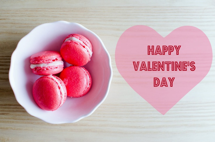 Raspberry and white chocolate macaroons - happy valentine\'s day ...