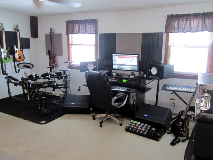 Chris q 39 s home studio music home recording pinterest studio music studios and recording - Home studio ...