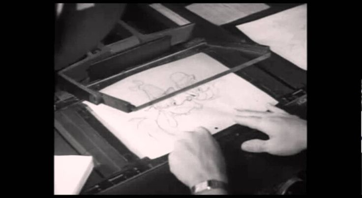 The Animation Process From 1938