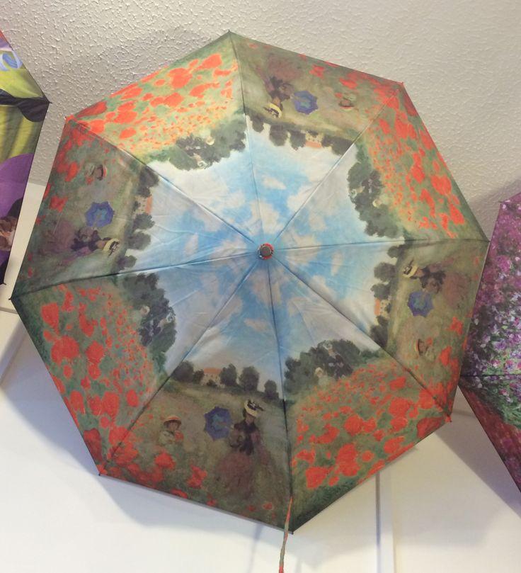 Monet poppyfields umbrella from Galleria.