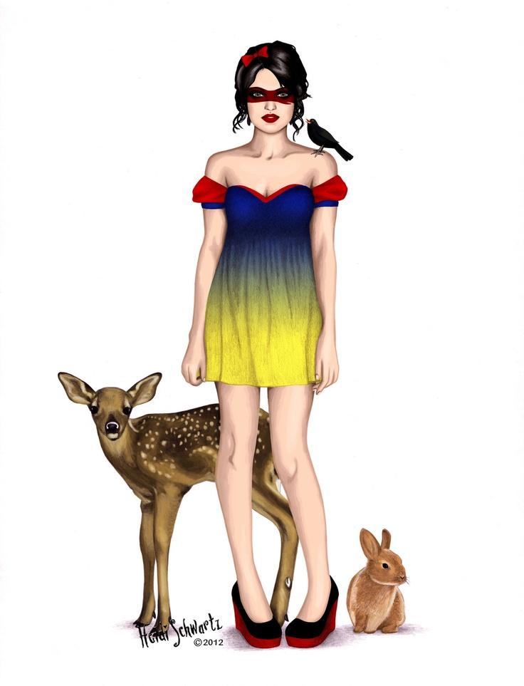 Superhero Snow White
