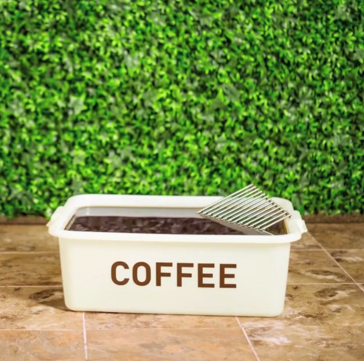 Soak dirty grill grates in coffee for one hour, then wash & rinse with warm water #LowesFixInSix