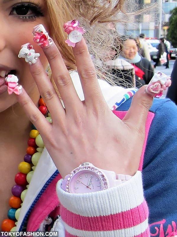 100 best Japanese Nail Art images on Pinterest | Fingernail designs ...