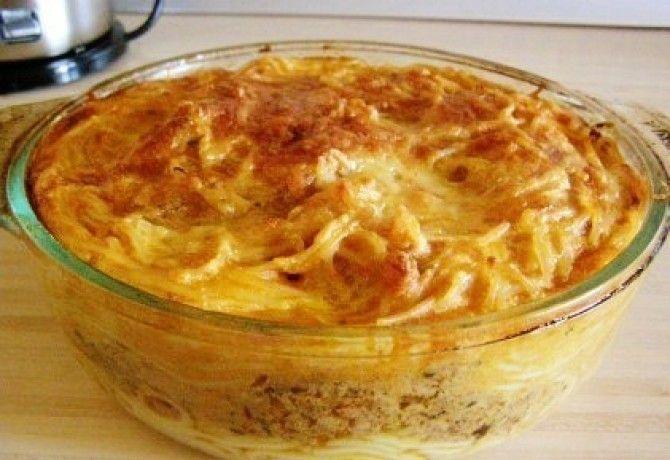 Görög rakott tészta recept képpel. Hozzávalók és az elkészítés részletes leírása. A görög rakott tészta elkészítési ideje: 55 perc